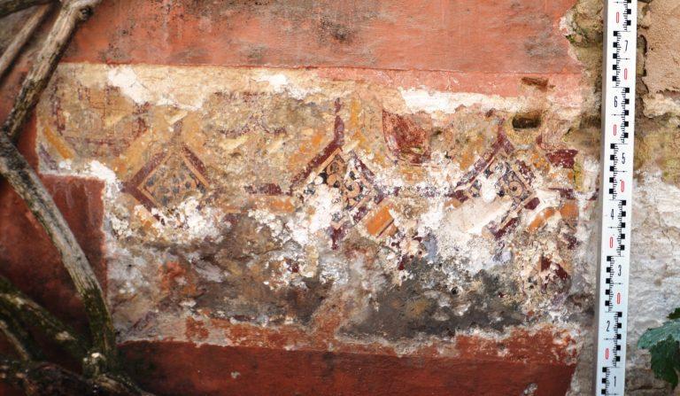 Descubiertas en el Real Alcázar de Sevilla unas pinturas no documentadas de la época de Pedro I