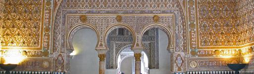 Visitas guiadas a los reales alc zares de sevilla for Todo pintura sevilla