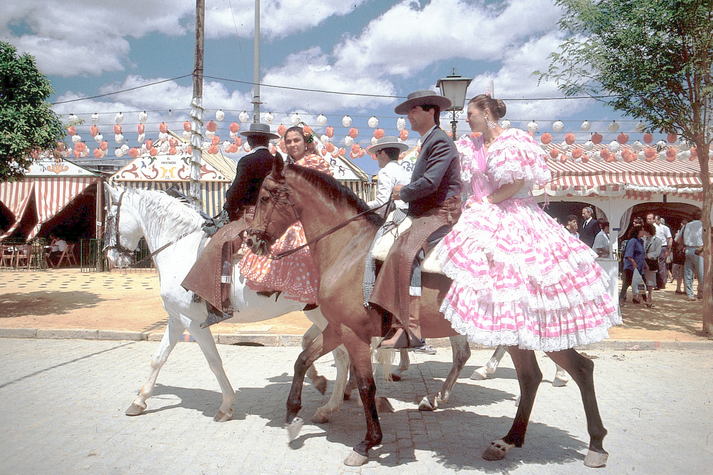 Fair in Seville